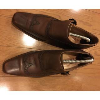 リーガル(REGAL)のリーガル ビジネスシューズ 25.5cm ブラウン(ドレス/ビジネス)
