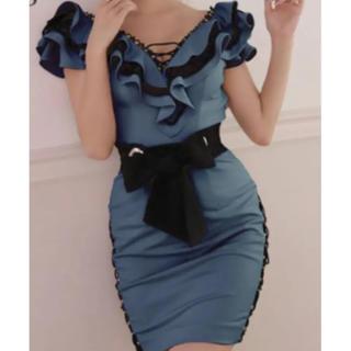 Andy - Lサイズ IRMA フリルデザインドレス