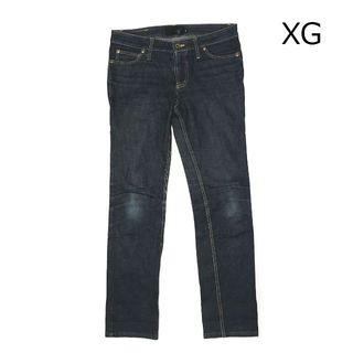 エックスジー(xg)の✨XG デニム デニムパンツ ジーンズ X-girl エックスガール(デニム/ジーンズ)