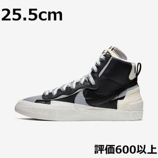 NIKE - Nike x Sacai Blazer Mid Black Grey