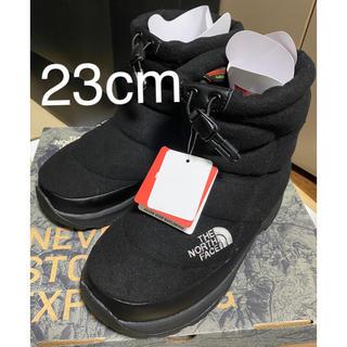 THE NORTH FACE - 新品 ノースフェイス  ヌプシ ブーティー ブーツ  23cm ブラック 黒