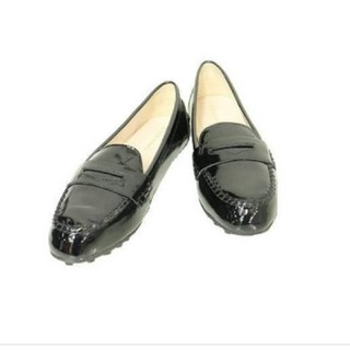 コールハーン(Cole Haan)のコールハーン エナメルスリッポン 6 5B(ローファー/革靴)