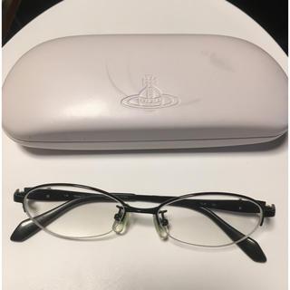 Vivienne Westwood - ヴィヴィアンウエストウッド眼鏡☆下フレームなし☆両方-4.25ケース付き送料無料