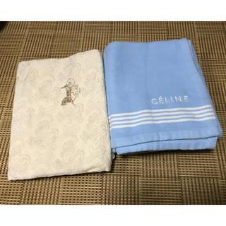 セリーヌ(celine)のセリーヌ シルク混毛布 シーツ 寝具 毛布(布団)