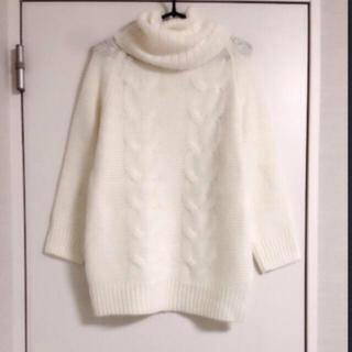 snidel - snidel タートルネックセーター