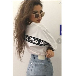GYDA - GYDA FILAグラフィックラインBIG Tシャツ
