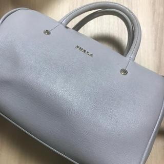 Furla - 美品 フルラ  ショルダーバック グレー ハンドバッグ FURLA バック
