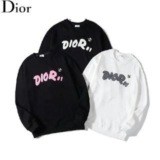 Dior - 3色 男女兼用 Dior トレーナー パーカー 暖かい カジュアル おしゃれ