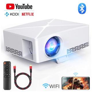 定価21999円!高品質ホームプロジェクターBluetooth対応Wi-Fi接続
