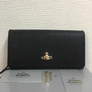 【未使用】Vivienne Westwood 超美品 上質レザー長財布BIACK
