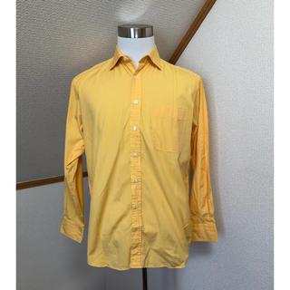 ダーバン(D'URBAN)の●ダーバンDURBAN/シャツ メンズ Lサイズ オレンジ 綿100%(シャツ)