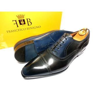 Santoni - 【新品◆定価6.1万】フランチェスコベニーニョ パティーヌ 革靴 6 25cm