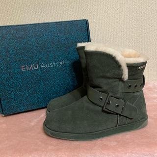 EMU - 美品✨EMU エミュー✨ウォータープルーフ ムートンブーツ w8