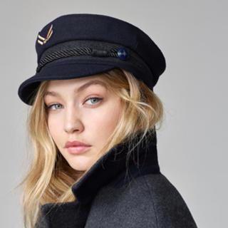 TOMMY HILFIGER - Wool Nautical hat Gigi Hadid