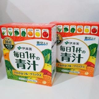 伊藤園 - 伊藤園 青汁 フルーツミックス 2箱