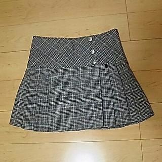 しまむら - しまむら グレンチェック ボックスプリーツスカート