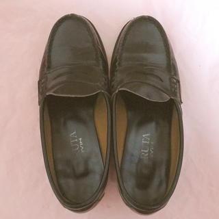 高校 通学靴(ローファー/革靴)