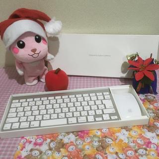 マック(Mac (Apple))のApple 純正ワイヤレスキーボード、マウス☆(PC周辺機器)