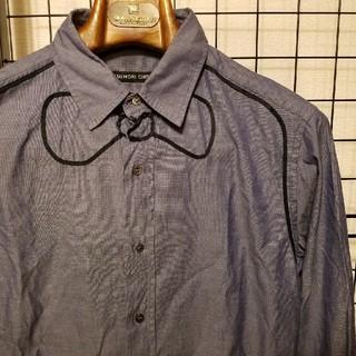 ツモリチサト(TSUMORI CHISATO)の日本製 TSUMORI CHISATO 蝶ネクタイデザイン 長袖シャツ(シャツ)