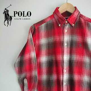 ポロラルフローレン(POLO RALPH LAUREN)の806 ラルフローレン チェック BD シャツ 小さめ ボーイズサイズ(シャツ)