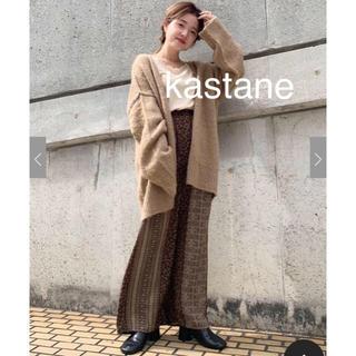Kastane - ラスト♡カスタネ♡パネル柄パンツ♡ブラウン