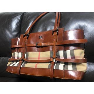 BURBERRY - バーバリー トート バッグ Burberry   bag‼︎