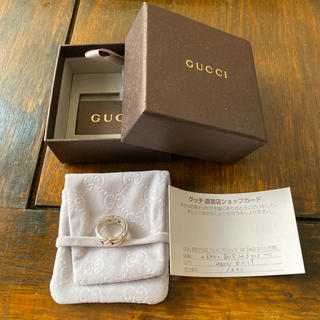 Gucci - 【GUCCI】グッチ ノットリング リング 正規品