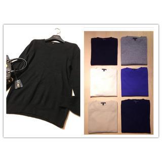 セオリー(theory)のセオリー  2015 カシミヤ 100% ニット セーター ブラック 黒(ニット/セーター)