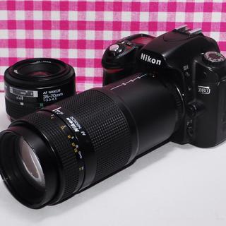 Nikon - ★遠くの撮影もバッチリ★Nikon D80 ダブルレンズキット・安心保証
