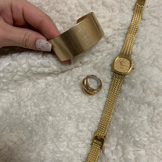 Lochie - 古着 ヴィンテージ 腕時計 セット リング