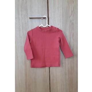 UNIQLO - UNIQLO タートルネック Tシャツ 80