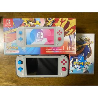Nintendo Switch - 任天堂 switch ライト ポケモン ソード セット