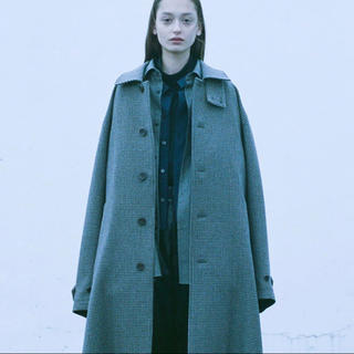 SUNSEA - stein 19aw OVER SLEEVE INVESTIGATED COAT