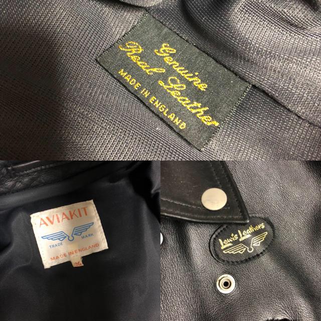 Lewis Leathers(ルイスレザー)の専用1月2日まで  メンズのジャケット/アウター(レザージャケット)の商品写真