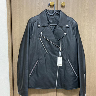ユニクロ(UNIQLO)のユニクロ ライダース 新品未使用 XL(ライダースジャケット)
