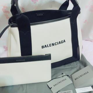 Balenciaga - ★新品未使用★バレンシアガ CABAS S ネイビー カバ BALENCIAGA