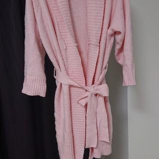 エメフィール(aimer feel)のピンク バスローブ(ルームウェア)