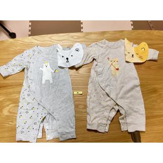 アカチャンホンポ(アカチャンホンポ)のベビー用長袖パジャマ 70サイズ(ロンパース)