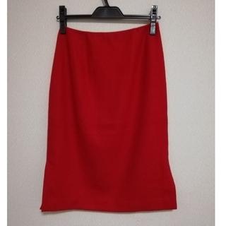 Sybilla - シビラ カシミア混 膝丈スカート