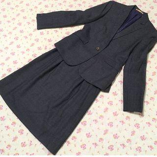 オリヒカ(ORIHICA)のオリヒカ スカートスーツ 9 W68 チェック OL ビジネス 通勤(スーツ)