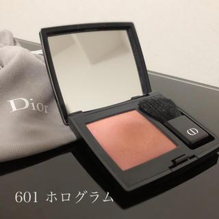 Dior - lu♡様 ディオールスキンルージュブラッシュ  【601ホログラム】
