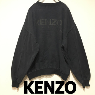 ケンゾー(KENZO)のKENZO golf ビッグロゴ スウェット トレーナー(スウェット)