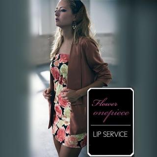 LIP SERVICE - LIP SERVICE ベアフラワー ワンピース♡リゼクシー rienda