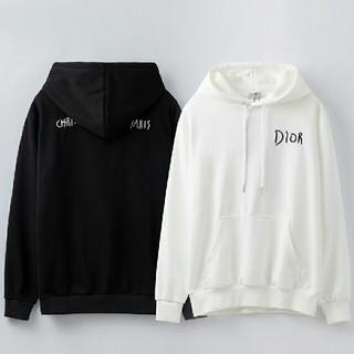 ディオール(Dior)の[2枚12000円送料込み] LOGOパーカー男女兼用(パーカー)
