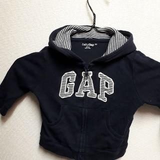 babyGAP - GAP ベビー パーカー 紺色 サイズ60