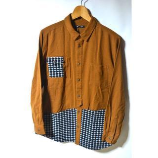 チャイハネ(チャイハネ)の新品 チャイハネ ワークシャツ フリーサイズ キャメル インド製 メンズ 長袖(シャツ)