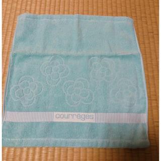 クレージュ(Courreges)の新品 クレージュ ハンドタオル 手拭きタオル(ハンカチ)
