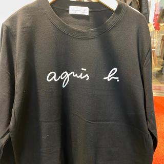 agnes b. - アニエスベー agnes b 黒 ロンT