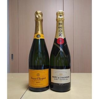 MOËT & CHANDON - Veuve Clicquot&Moet  Chandon シャンパン2本セット