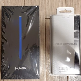 SAMSUNG - ■Samsung Galaxy note10+ SIMフリー 純正カバー付き